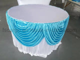 Corredor de mesa de poliéster para mesa redonda usada (CGTC1716)