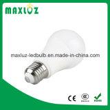 Luz de bulbo de la aprobación E27/B22 LED de RoHS del Ce de A60 9W