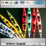 kayak en plastique d'océan de 5.11m double avec des pédales