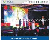 Tela interna Rental de fundição de alumínio do diodo emissor de luz do estágio HD do gabinete de P5mm