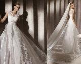 جديدة وصول غلاف زفافيّ عرس ثوب مع شريط شال