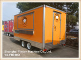 Ys-Fb200f de Aangepaste Vrachtwagens van het Roomijs van de Box van de Hamburger voor Verkoop