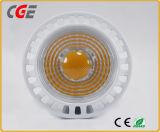 セリウム及びRoHSの証明書が付いている5W GU10 LEDの点球根かライト