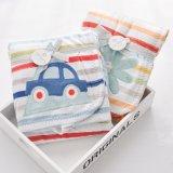 Applique Short Plush com Sherpa Fleece Toddler Baby Blanket