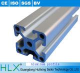 Profil en aluminium industriel du plus défunt moulage avec un type européen