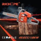 Tronçonneuse puissante d'essence de la machine de découpage d'arbre d'outils de jardin CS4680