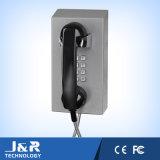 Vandalproof受話器が付いているAnalog/IPの刑務所の電話険しい電話