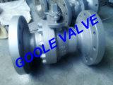 valvola a sfera manuale della porta standard dell'acciaio di getto 150lb (GAQ41F)
