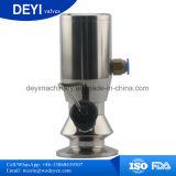 Soupape sanitaire de robinet de prise d'échantillons de SS316L avec le type rond