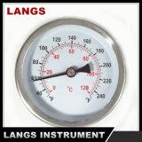 069 thermomètre bimétallique de mètre industriel de l'usine 63mm