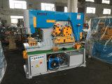 Ironworker hidráulico de Q35y, perfuração do CNC e máquina de estaca 90 toneladas