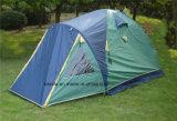 4 Pole-kampierendes Zelt der Personen-doppelten Schicht-3 mit Extension
