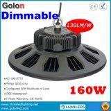 240W 200W 160W 100W IP65 impermeabilizzano la resistenza Dimmable 100-277V di 1-10V PWM che oscura l'indicatore luminoso industriale del LED