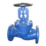 Alta qualidade da válvula de globo média do aço inoxidável de Wcb da temperatura