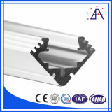 Profil en aluminium léger en aluminium du boîtier DEL de profil en aluminium pour la bande de DEL