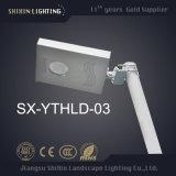 Todos en una luz de calle solar de 80W90W100W LED con el panel solar