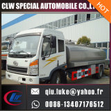 FAW Jiefang 신선한 우유 탱크 수송 트럭