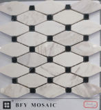 Плитка стены мозаики строительного материала естественная каменная мраморный в мраморе (FYSL365)