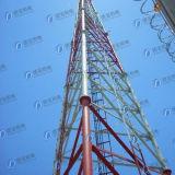 Hot-DIP Galvaniserende Communicatie Driehoekige Toren van de Pijp
