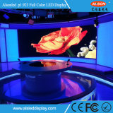 China, 2017 HD cubierta P1.923 a todo color de pantalla LED con aluminio Gabinete