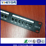 CAT6 Panel de conexiones UTP con 24 pines