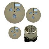 Vendido caliente SMD multicapa Condensador electrolítico de aluminio Tmce24