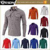Esdy im Freiensport wärmt Hemd der taktischen Vlies-Hemd Softshell Männer