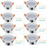 luces de techo ligeras del programa piloto de 18W Samsung SMD LED abajo Lifud