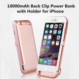 крышка крена силы кожуха батареи заряжателя батареи заряжателя перемещения 4000mAh внешняя резервная на iPhone 6/7