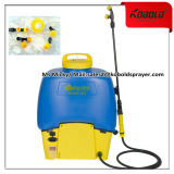 Pulvérisateur à batterie Knapsack 20L, Plastique, Pulvérisateur à mouche à soufflerie