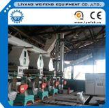 3-5ton/Hr 생물 자원 연료 나무 펠릿 생산 라인/나무는 선반을 산탄