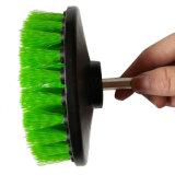 Cepillo derecho del taladro para la limpieza del neumático