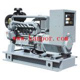 gerador elétrico Soundproof Diesel fresco de Deutz do ar de 50kw 63kVA (F6L912T)