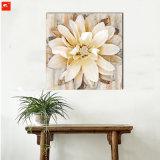 Het Olieverfschilderij van bloemen met Frame voor Decor