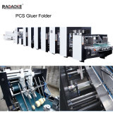 Pizza Box Making Machine e Gluer Folder com quatro Six Corner Box (GK-PCS)