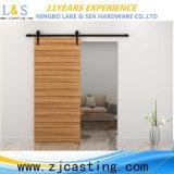 Puerta de granero de madera popular con el hardware (LS-SDU-8004)