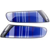 Cubierta azul protegida ULTRAVIOLETA material de la lámpara de la cara del reemplazo del estilo de Speedwell del color negro del ABS a estrenar para Mini Cooper F56 (2PCS/Set)