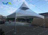 판매를 위한 백색과 부분적인 명확한 지붕을%s 가진 20X20' 작은 뾰족탑 천막