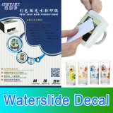 Этикеты скольжения воды для керамических стеклянных пластичных стикеров ногтя кружки