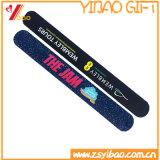 Bracelet variable optique de claque de silicones de logo fait sur commande pour le cadeau de promotion (XY-SW-028)