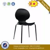 Conveniente Função Cromo Metal Leg Plastic Meeting Office Chair (HX-V017)