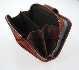 Бумажник мешка монетки владельца карточки PU Croco силуэта платы кожаный