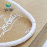 Uso modificado para requisitos particulares del bolso del regalo del papel de Brown de la impresión para la promoción de la compañía
