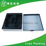 ギフトのパッケージのための高い光沢のある白いギフト用の箱の贅沢なギフト用の箱