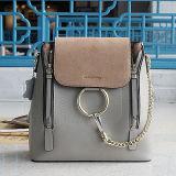 Tamanho Chain novo do saco de ombro 2 de Deisgn da bolsa do couro genuíno de 100% para senhoras da fábrica Emg4906 do OEM