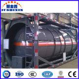 химически жидкостный контейнер топливозаправщика 20feet в контейнере бака ISO 31t