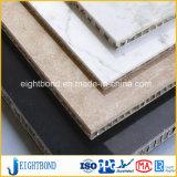 Feuille en aluminium de panneau de nid d'abeilles du meilleur de modèle marbre de pierre