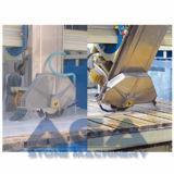 Machine de granit/de marbre automatique de pont de Sawing avec le sous-sol en acier de stand (XZQQ625A)