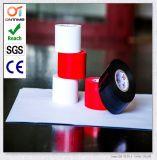Cinta eléctrica amarillenta del conducto del PVC de la calidad del alcance con una tabulación que comienza (los 48mm*20m)