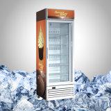 Glas konfrontierte Gefriermaschine für Eiscreme
